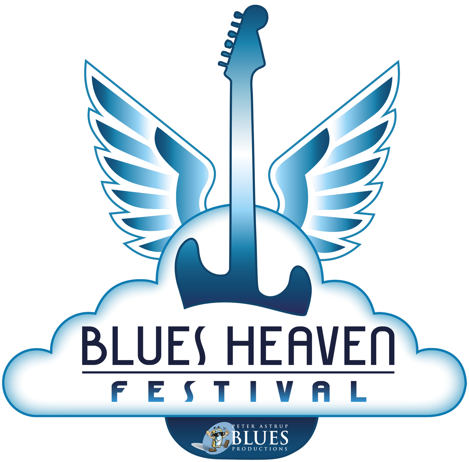 image of the logo for Blues Heaven Festival in Denmark