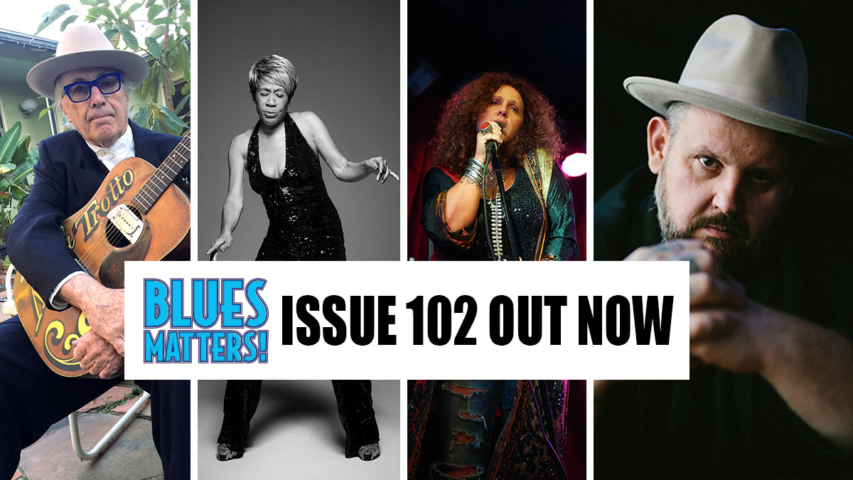 image of banner for Blues Matters magazine Issue 102