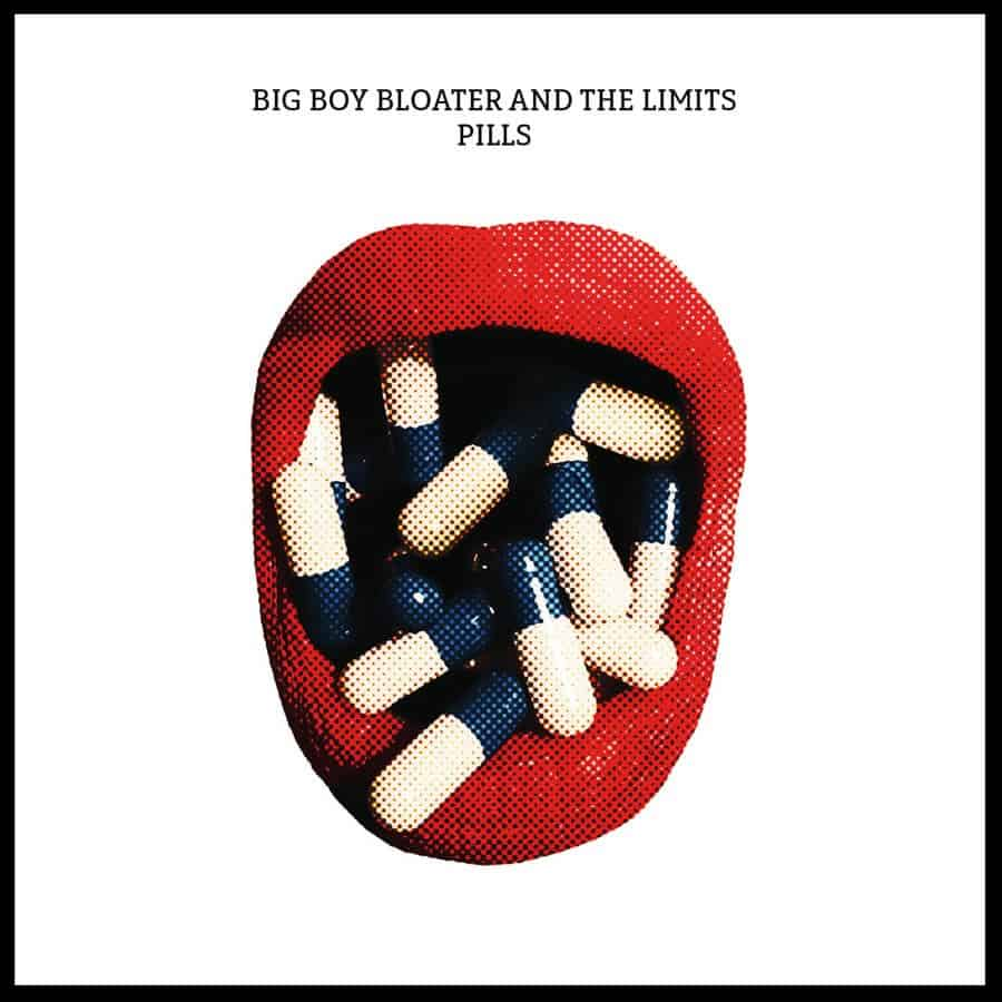 image of the album cover for Big Boy Bloater's new album Pills due out June 2018