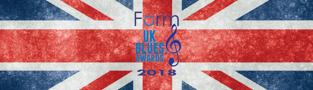 image of banner for FORM UKBlues Awards 2018
