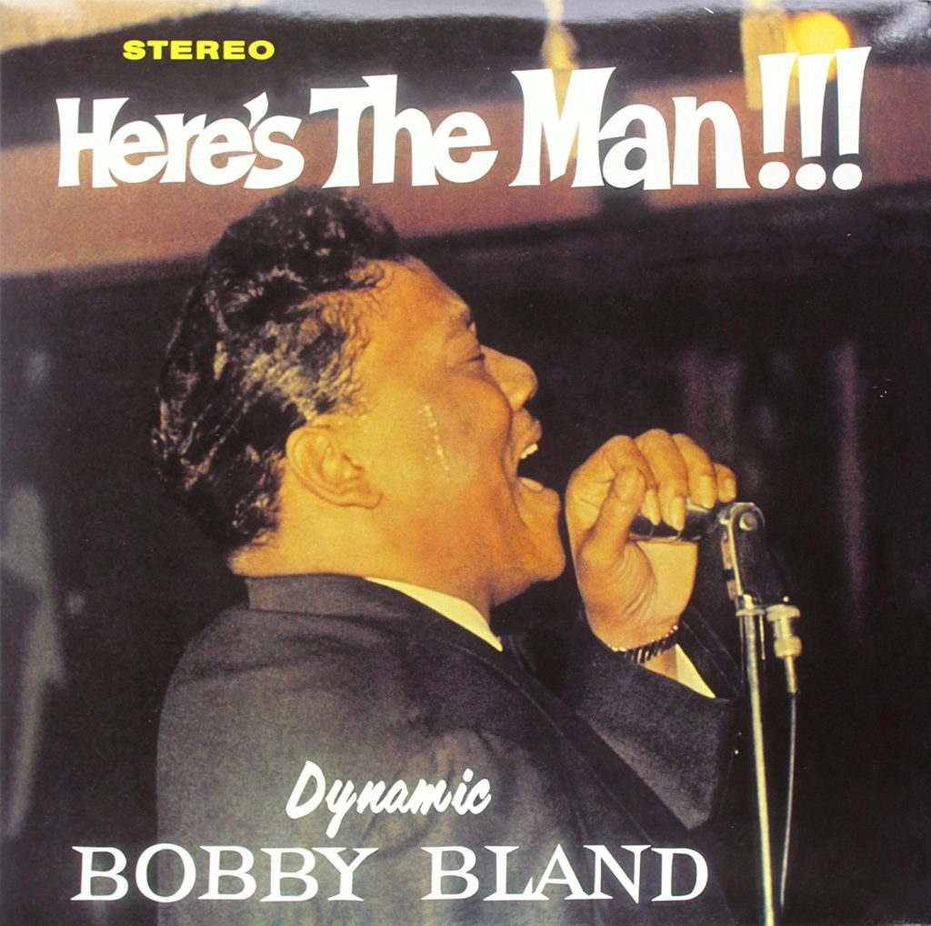 Bobby Bland album cover image for Here's The Man